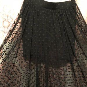 Long Torrid Lace skirt